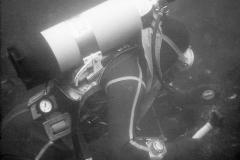 Diver side-profile