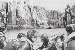 Newspaper cutting Farne Islands